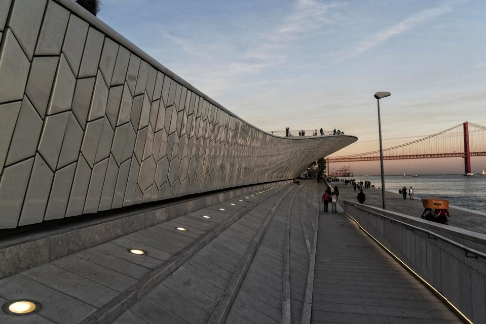 Official Opening of MAAT in Lisbon on River Tejo