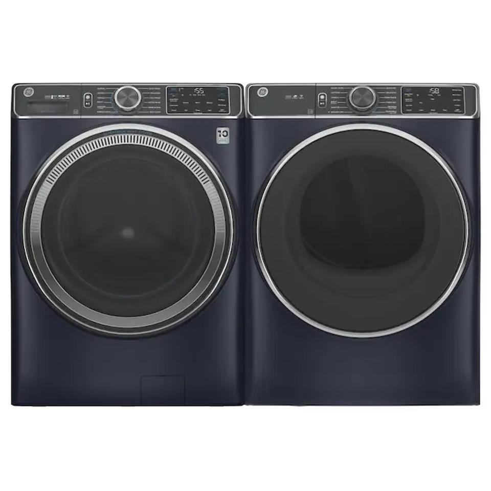 Best Washer and Dryer Set: GE UltraFresh Vent System Front-Load Washer & Electric Dryer Set with OdorBlock