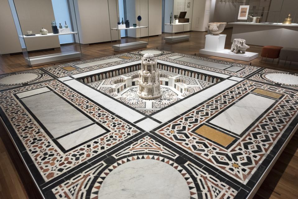 Aga Khan museum interior details. The Aga Khan Museum  is a...