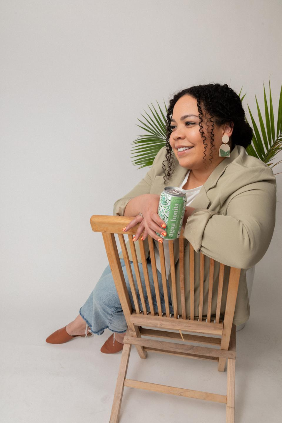 Kayla Castañeda founded Agua Bonita with co-founder Erin PonTell during the pandemic.