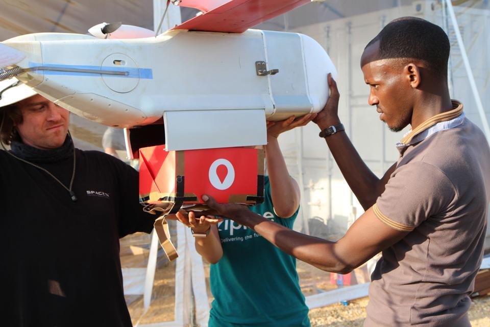 RWANDA-TECHNOLOGY-AVIATION-HEALTH