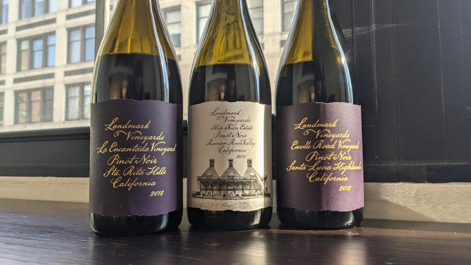 Landmark Single Vineyard Pinot Noir Wines