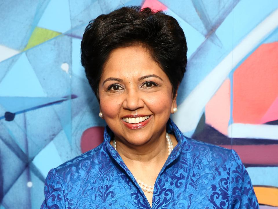 Indra Nooyi, celebrated former chairman and CEO of PepsiCo, on leadership
