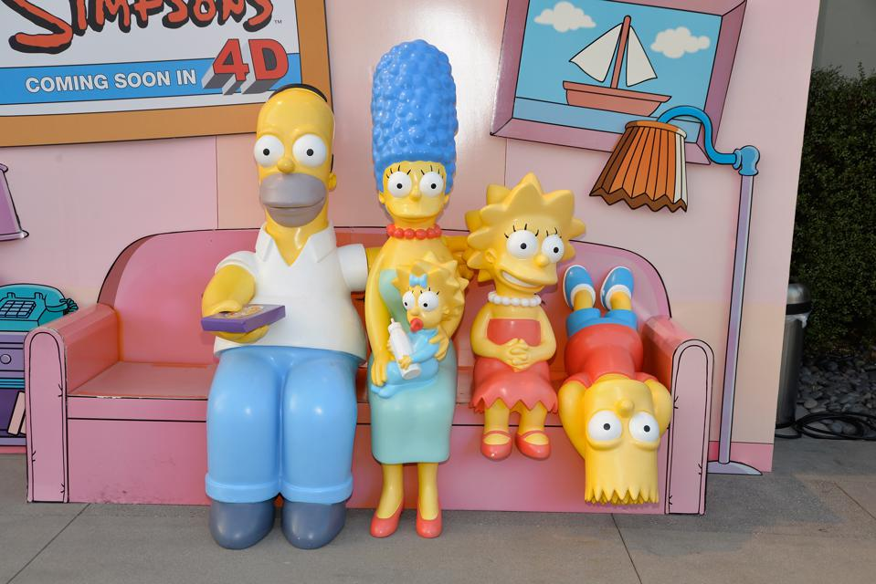 Celebration Of The 600th Episode Of ″The Simpsons″ - Couch Gag Virtual Reality Experience