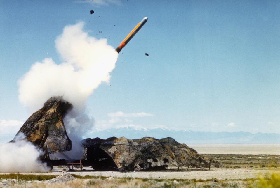 Cruise Missile Launching