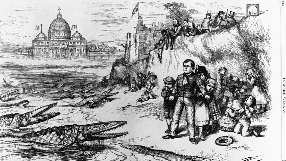 Political Cartoon Indicting Tammany Hall