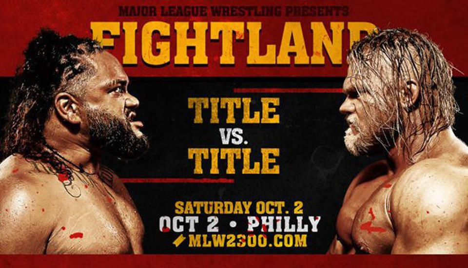 MLW Fightland Taping Results ** Spoilers **
