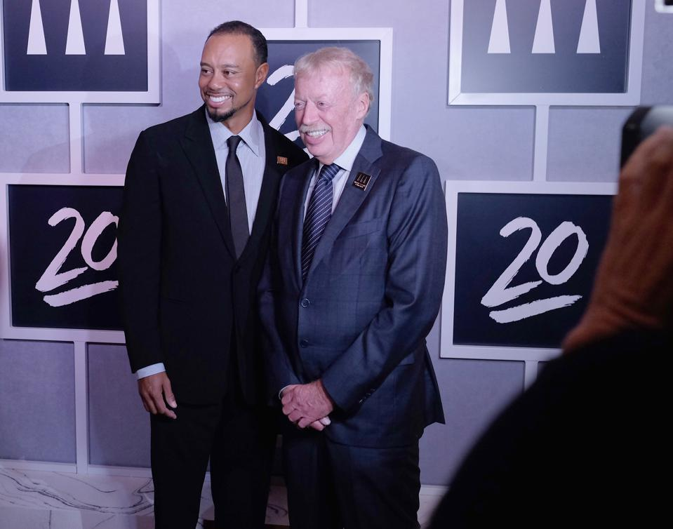 Tiger Woods Foundation's 20th Anniversary Celebration at the New York Public Library - Inside