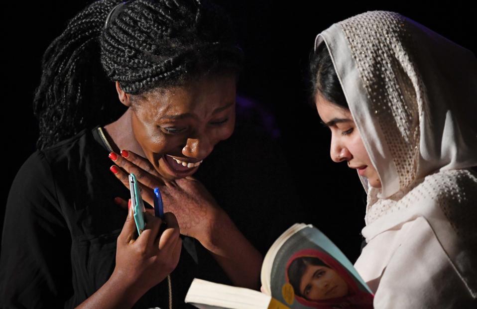 Malala Yousafzai speaks at Denver school