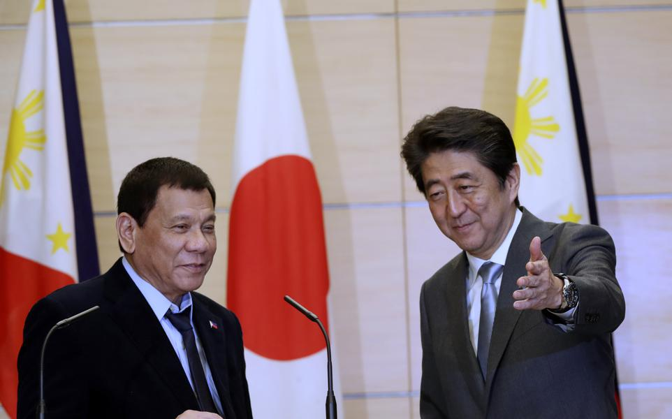 Japan And China Are Competing To Win Over The Philippines