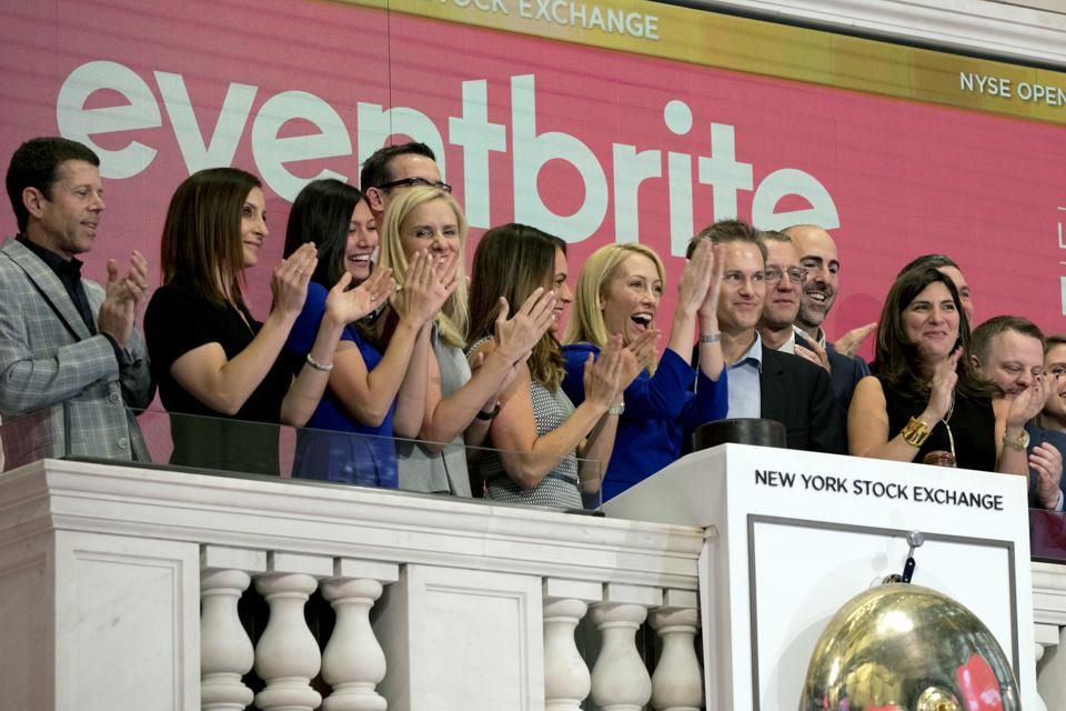 Eventbrite CEO Julia Hartz at IPO.