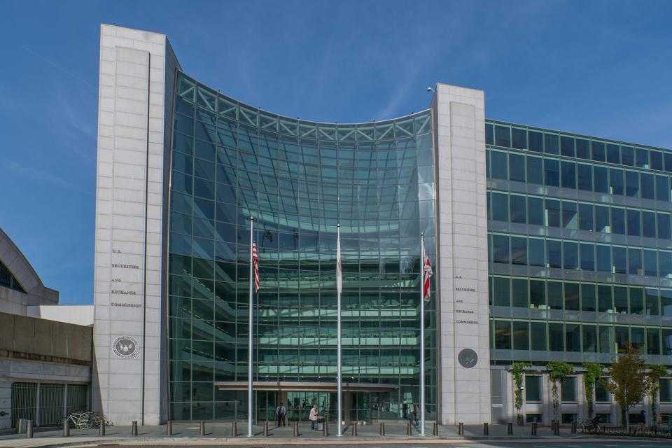 The Securities and Exchange Commission in Washington, D.C.
