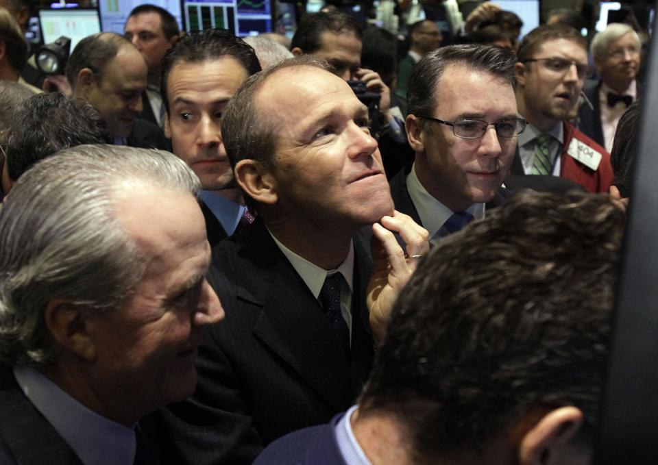 Wall Street Nielsen IPO