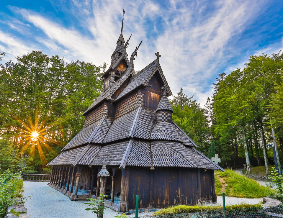 Fantoft Stave Church.