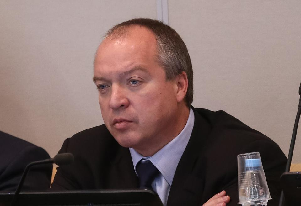 Andrei Skoch at the Russian State Duma in 2016.