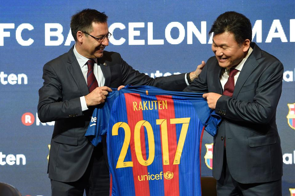 Barcelona, Real Madrid, And Manchester United Named World Soccer's Top 3 Sponsorship Platforms