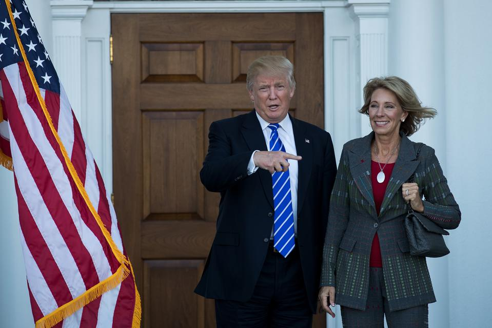 Trump's Education Secretary Choice Is A Blow To Our Nation's Science Health