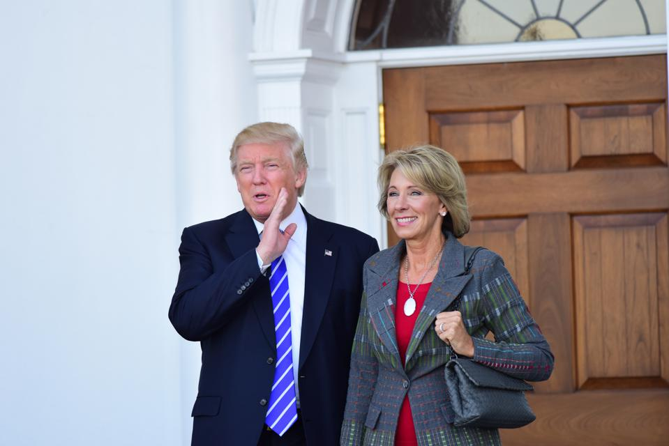 DeVos' Proposed New Rules Would Allow Religion-Based Discrimination By Student Groups