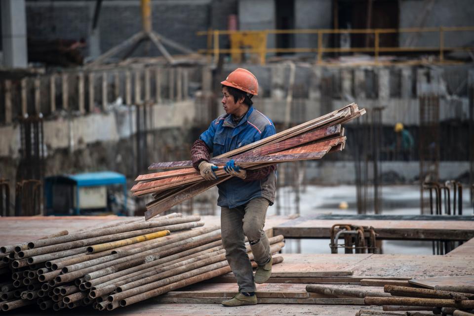 CHINA-ECONOMY-HOUSING