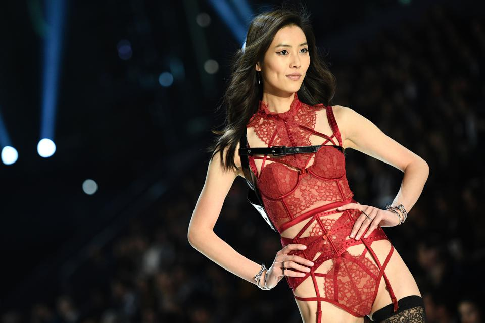 In made headlines when she became the first Asian model to walk the Victoria's Secret Fashion Show. The next year, she became the first Asian model to land an Esteé Lauder cosmetics campaign. While others opt for high-intensity workouts ahead of the VS show, Wen has a low-impact and mindful approach to pre-show preparations.