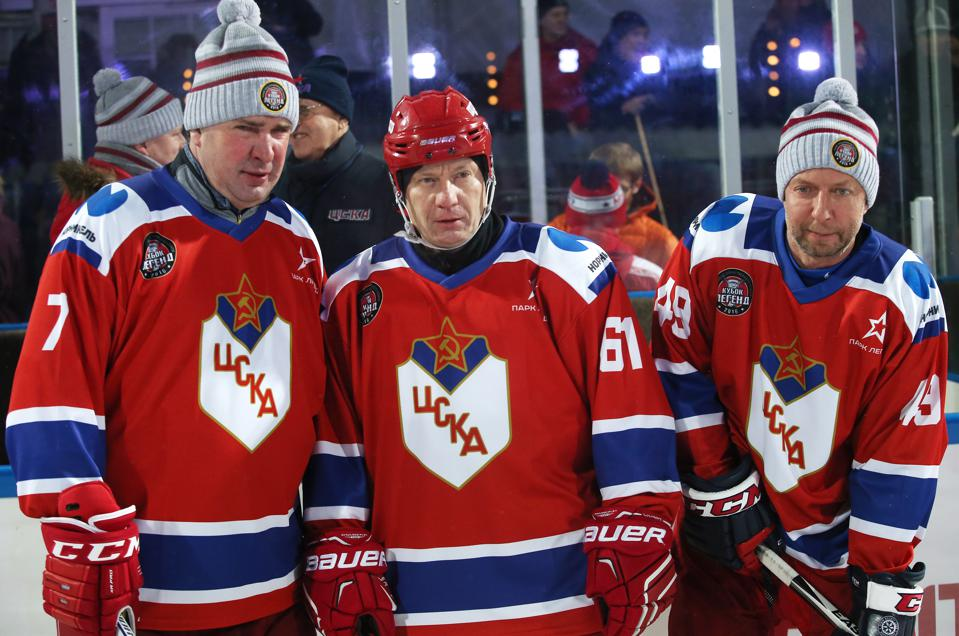 2016 Ice Hockey Legends' Cup marking 70th anniversary of Russian ice hockey