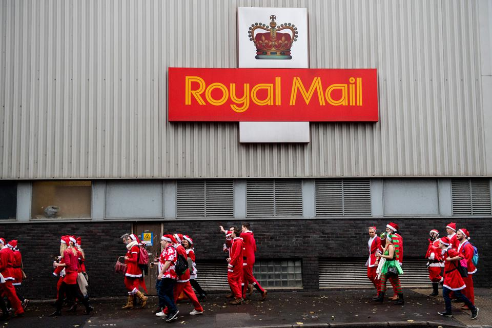 Santacon Takes Place In London