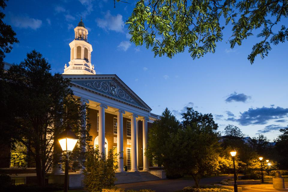 This is a photo of the Harvard Business School campus.