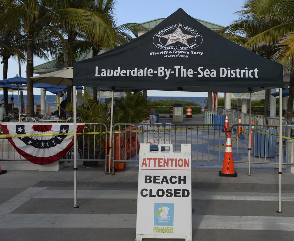 Florida Beaches Will Be Closed Through Fourth Of July Holiday Weekend On rise Of COVID-19 Cases