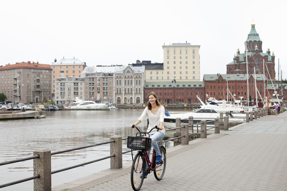 Helsinki Happiest city