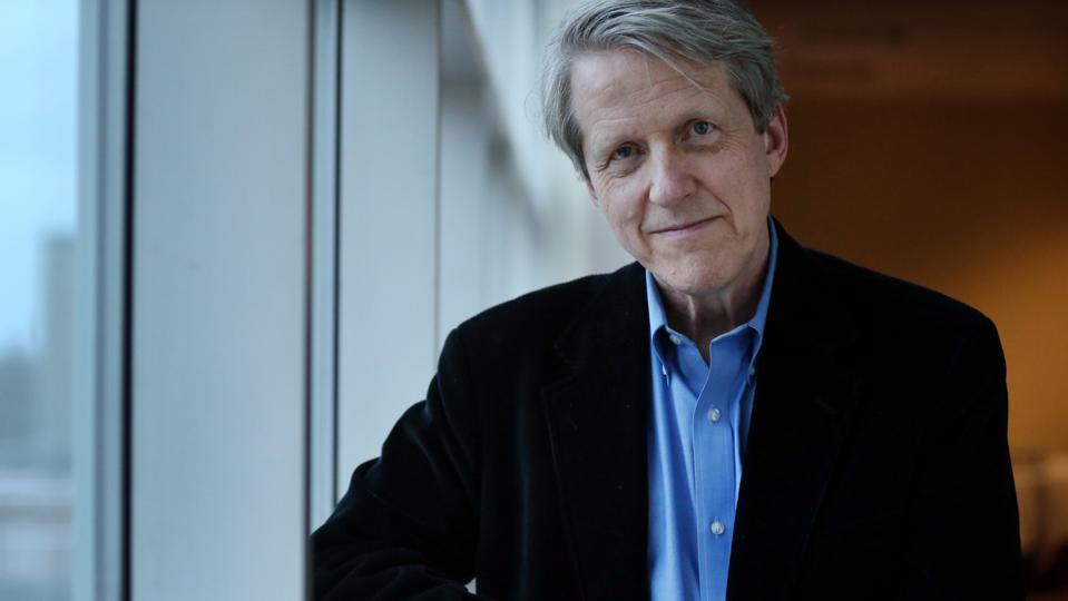 صورة روبرت شيلر الحائز على جائزة نوبل