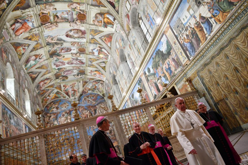 The $13,000 Art Books: The Vatican's Visual History of the Sistine Chapel