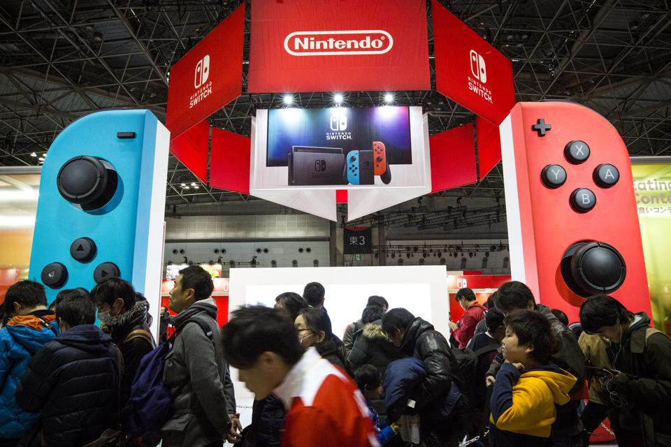 Nintendo Unveils New Console 'Nintendo Switch'