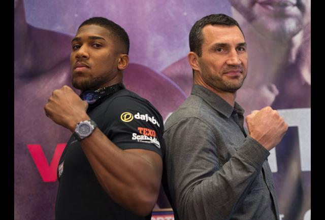 Anthony Joshua Vs. Wladimir Klitschko Highlight Big Month Of Fights