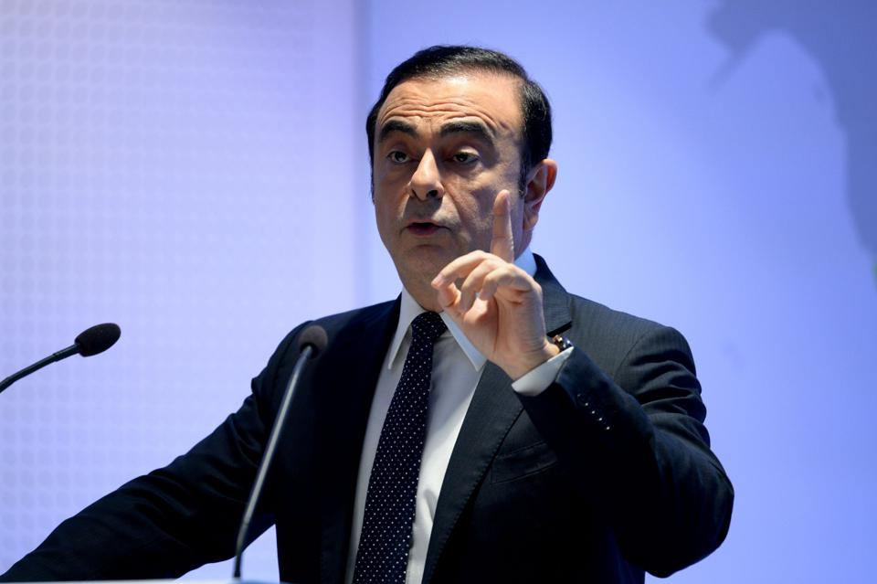 Renault-Nissan's Ghosn Asserts Leadership In EVs, And The Auto Industry