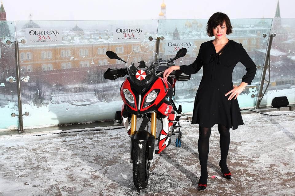 Milla Jovovich Presents ″Resident Evil: The Final Chapter″ In Moscow
