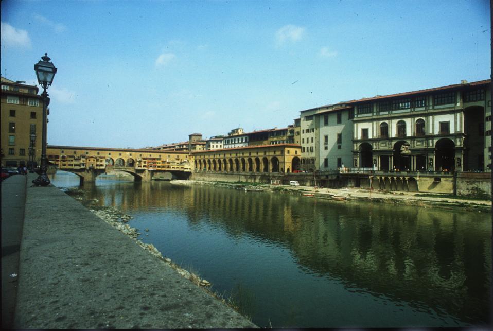 The Uffizi art galleries, Florence, Italy