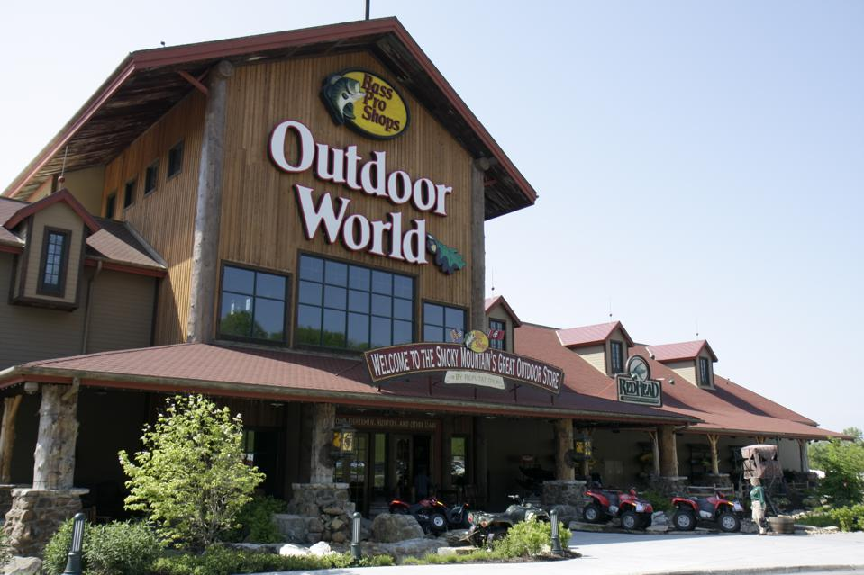 The employees in charge of running Bass Pro's stores and distribution centers are receiving pay cuts up to 15%, even as most of them have been asked to come in.