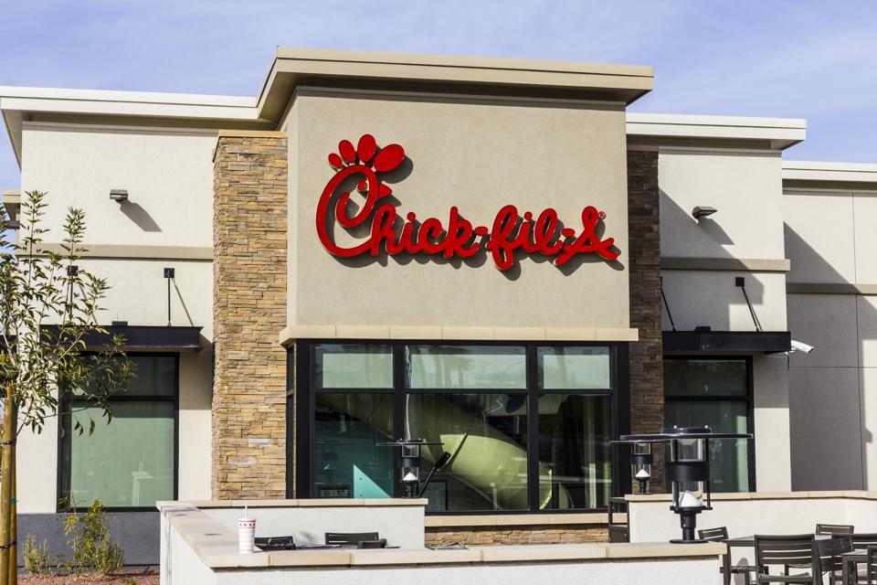 Chick-fil-A Retail Fast Food Location IV