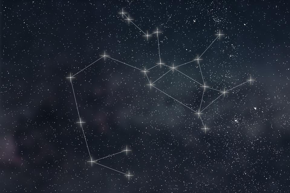 The constellation of Sagittarius.