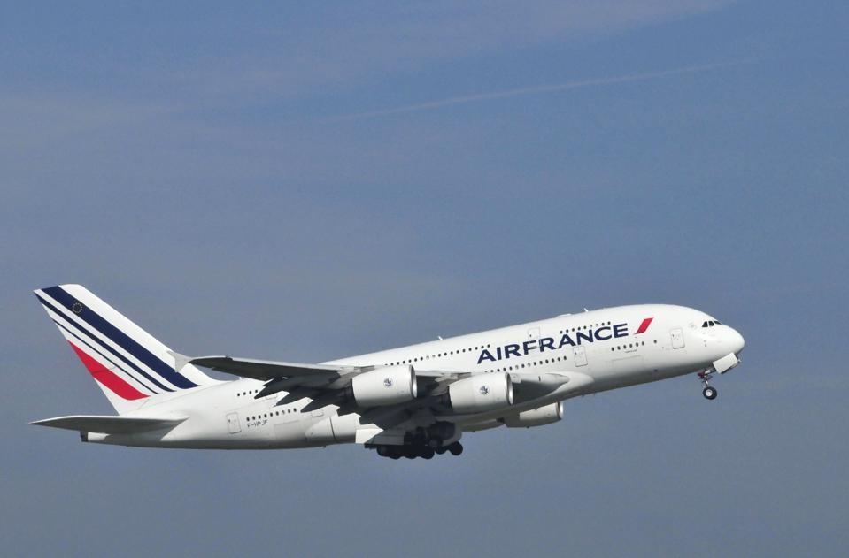 Air France A380 aiplane