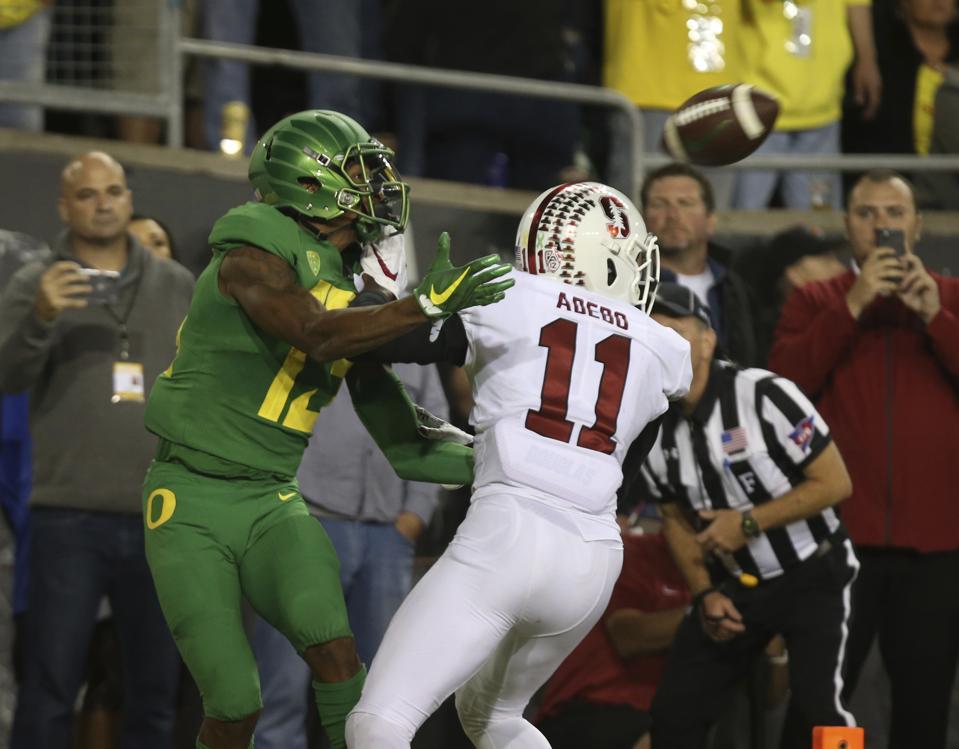 Stanford Oregon football