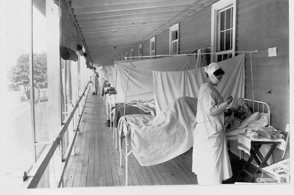 Infuenza Ward at Walter Reed Hospital