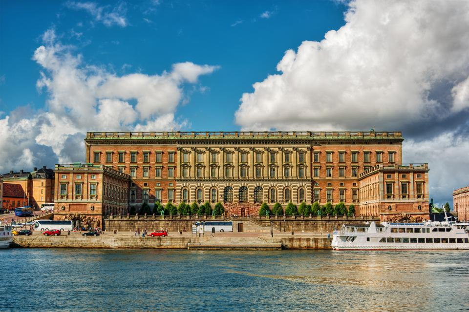 Royal Palace in Stockholm HDR