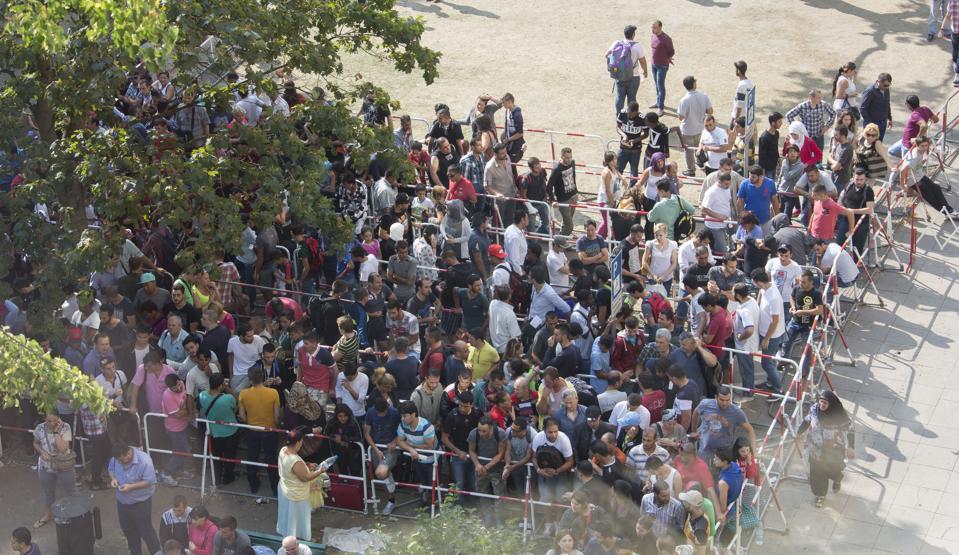 Fluechtlinge Lageso