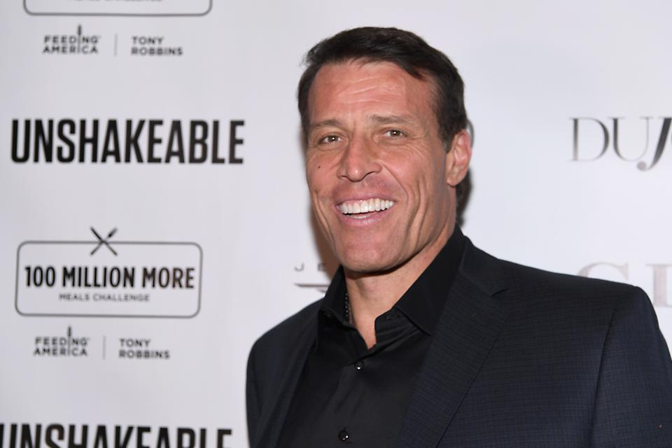 Tony Robbins believes in choosing a group of people that will elevate us.