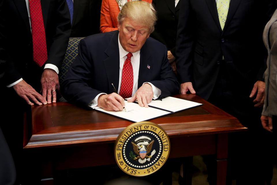 President Trump Signs Executive Order Rolling Back Environmental Regulation