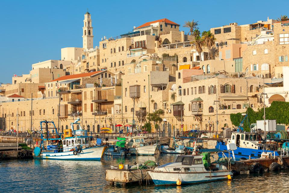 View of old Jaffa in Israel.