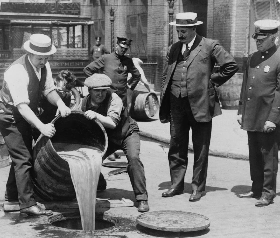 Prohibition in the USA 1920-1933