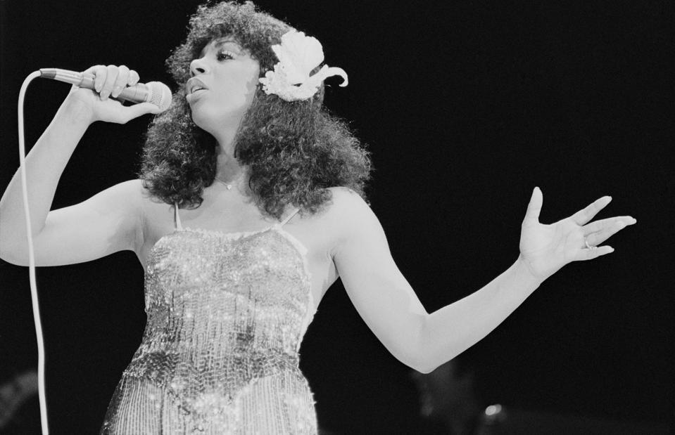 Donna Summer On Stage