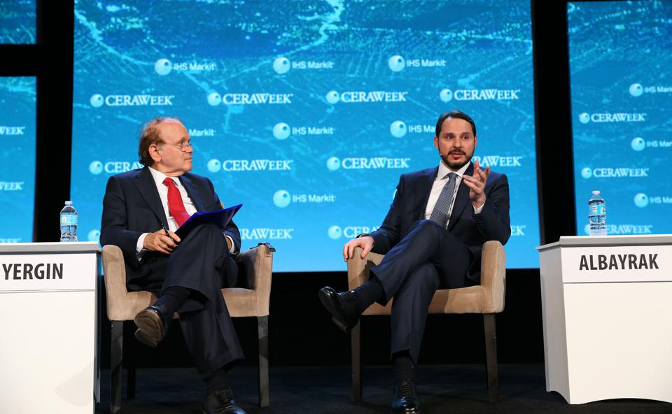 Turkish Minister of Energy and Natural Resources Berat Albayrak in Texas